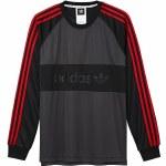 Adidas Goalie Jersey-Black/Utility Black/Scarlet-L