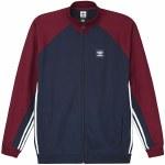 Adidas Full Zip Rugby-Collegiate Navy/Collegiate Burgundy/White-XL