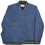 Alltimers Mens League Varsity Jacket-Blue-M