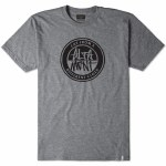 Altamont Contrast Stacked Short Sleeve T Shirt-Grey Heather-S