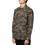 Altamont Death March Long Sleeve Woven Shirt-Camo-L