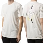 Altamont Trash Gull Short Sleeve T Shirt-Dirty White-XL