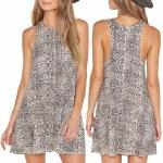 Amuse Indio Dress Womens-Multi-M