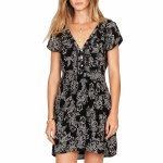 Amuse On The Low Dress Womens-Black-M