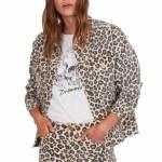 Amuse Isabela Jacket-Leopard-XS