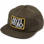 Anti Hero Reserve Patch Snapback Hat-Brown-OS