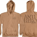 Anti Hero Drop Hero Pullover Hoody-Saddle w/Black Prints-L