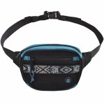 BumBag Oaker Mini Mega Hip Pack-Black/Blue-OS
