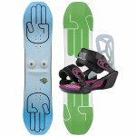 Bataleon Boys Mini Shred Set Snowboard-Assorted-110
