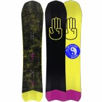 Bataleon Mens Party Wave Snowboard-Assorted-154