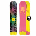 Bataleon Mens The Party Wave Snowboard-Assorted-148