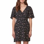 BB Dakota Lettie Dress Womens-Black-XS
