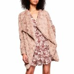 BB Dakota Tucker Coat Womens-Tan-M