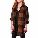 BB Dakota Eldridge Coat Womens-Cognac-M