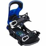 Bent Metal Mens Logic Snowboard Binding-Blue-L