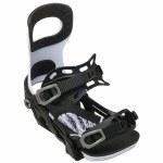 Bent Metal Mens Joint Snowboard Binding-White-M