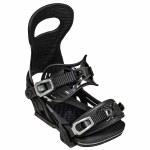 Bent Metal Mens Solution Snowboard Binding-Black-L