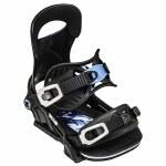 Bent Metal Mens Forte Snowboard Binding-Black-M