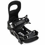 Bent Metal Mens Bolt Snowboard Binding-Black-L