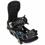 Bent Metal Mens Axtion Snowboard Binding-Black-L