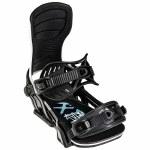 Bent Metal Mens Transfer Snowboard Binding-Black/White-L