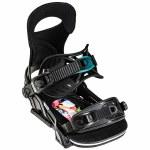 Bent Metal Womens Forte Snowboard Binding-Black-M