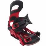 Bent Metal Transfer Snowboard Binding-Red-S