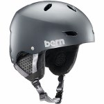 Bern Womens Brighton w/ MIPS Helmet-Satin Metallic Storm-M