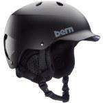Bern Mens Watts w/MIPS Helmet-Matte Black-L