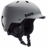 Bern Mens Watts w/MIPS Helmet-Matte Grey-S