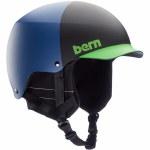 Bern Mens Baker w/ MIPS Helmet-Matte Blue Hatstyle-M