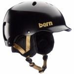 Bern Womens Lenox Helmet-Satin Black-S