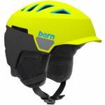 Bern Heist Brim Helmet-Matte Neon Yellow-S