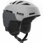 Bern Heist Helmet-Satin Light Grey-M