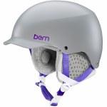 Bern Muse Helmet w/MIPS Womens-Satin Grey-S