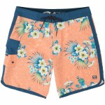 Billabong Mens 73 Line Up Pro Boardshort-Neon Melon-28