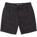 Billabong Mens Surftrek Reflex Elastic Waist Short-Black-S