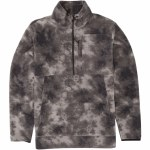 Billabong Mens Boundary Mock Lite Fleece-Pewter-S