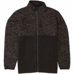 Billabong Mens Boundary Zip Fleece-Phantom-S
