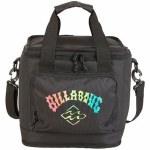 Billabong Mens Beachcomber Cooler Bag-Black Neon-OS