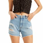 Billabong Womens how Bout That Short-Faded Denim-27