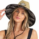 Billabong Womens Tipton Hat-Black/White-OS