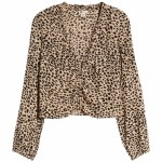 Billabong Womens Starry Nights Long Sleeve Top-Animal-S