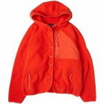 Billabong Womens Tofino Snap Front Jacket-Tango Red-S