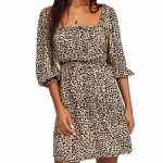 Billabong WOmens Riviera Dress-Animal-S