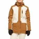 Billabong Womens Trooper STX Jacket-Ermine-L