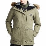 Billabong Womens Into The Forest Jacket-Tawny Olive-XS
