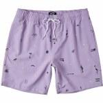 Billabong Mens Sundays Layback Boardshort-Lavender-S