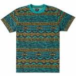Billabong Mens Halftrack Crew Short Sleeve T-Shirt-Dark Mint-S