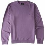 Billabong Mens Wave Wash Crew Sweatshirt-Purple Haze-S